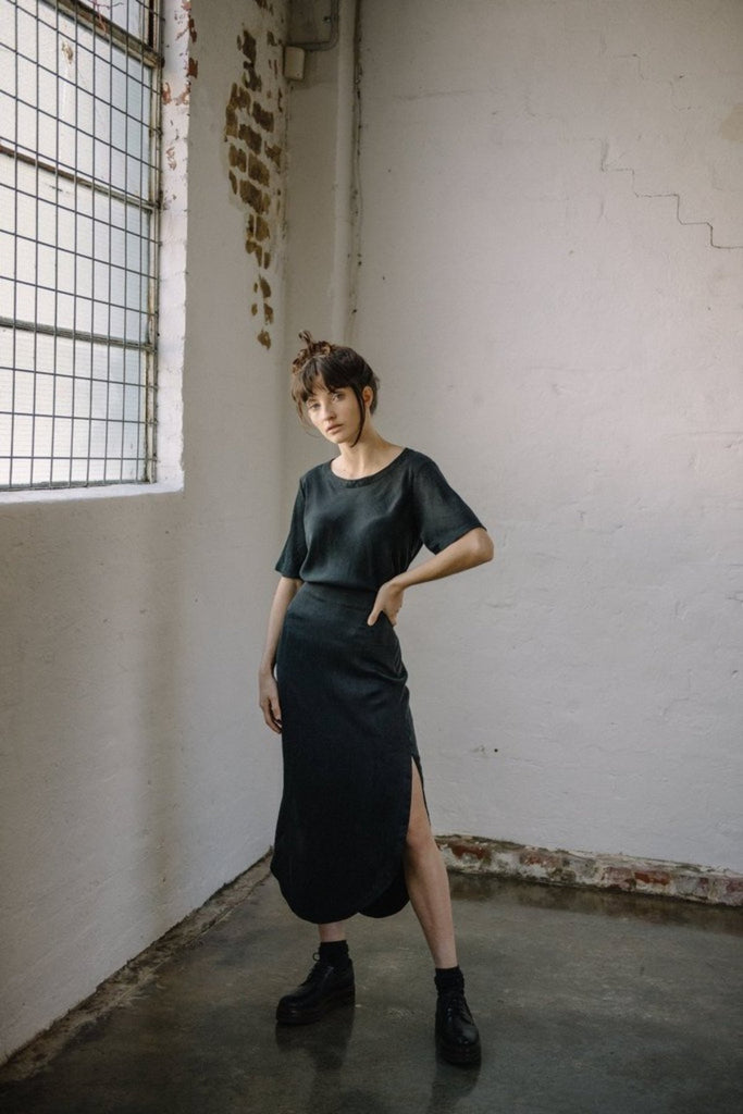 Ahimsa Top Tops The Fashion Advocate ethical Australian fashion designer boutique Melbourne sustainable clothes