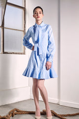 Baby Blue Uji Dress Dresses The Fashion Advocate ethical Australian fashion designer boutique Melbourne sustainable clothes