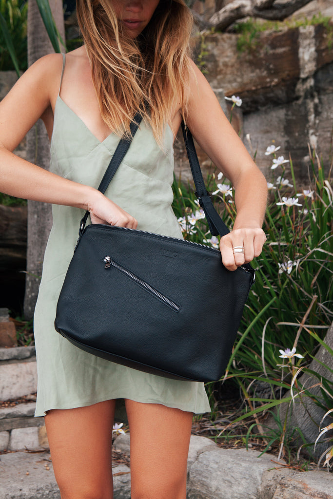 Olive Wanderer Cross Body Bag Bags + wallets The Fashion Advocate ethical Australian fashion designer boutique Melbourne sustainable clothes