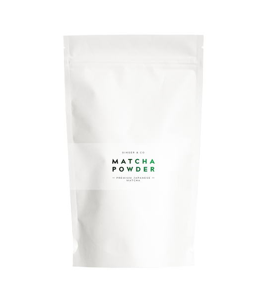 Matcha Powder Health foods The Fashion Advocate ethical Australian fashion designer boutique Melbourne sustainable clothes