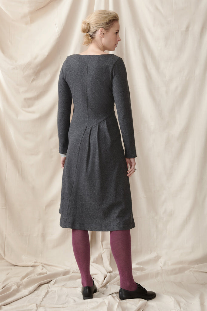 Lupin Dress in Hemp Organic Cotton Knit Dresses Ethical Sustainable Vegan Organic Australian fashion womens clothes