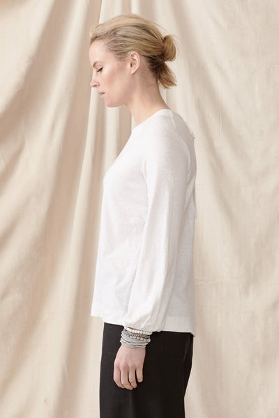 Ash Top in Hemp Organic Cotton Knit Shirts + tops The Fashion Advocate ethical Australian fashion designer boutique Melbourne sustainable clothes