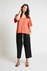Melon Kimono Sleeve Top Shirts + tops Ethical Sustainable Vegan Organic Australian fashion womens clothes