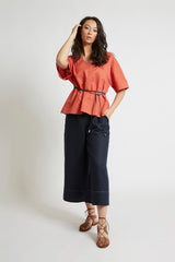 Melon Kimono Sleeve Top Tops The Fashion Advocate ethical Australian fashion designer boutique Melbourne sustainable clothes