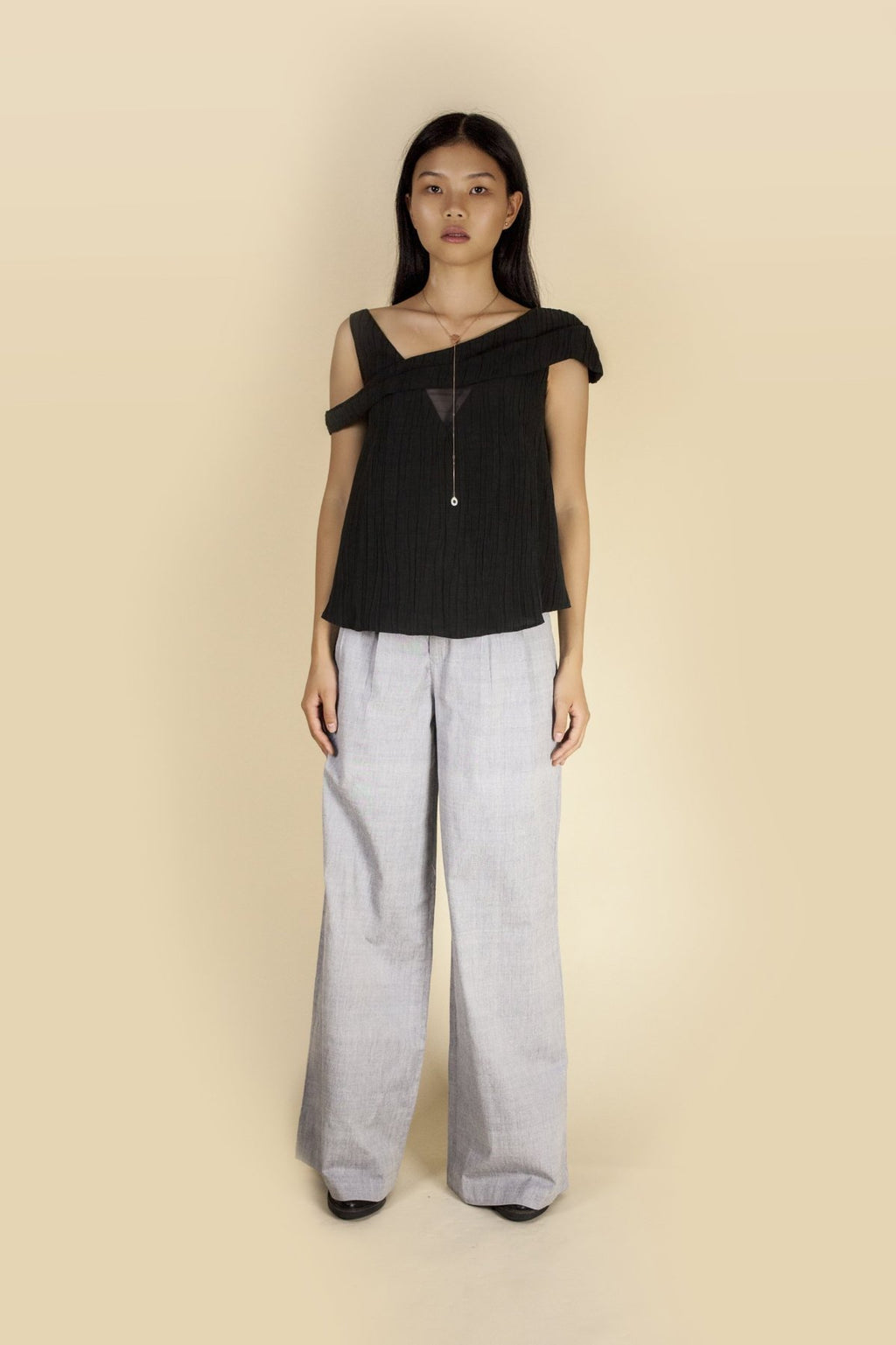 Sage Trouser-Brooke Da Cruz-THE FASHION ADVOCATE-ethical sustainable Australian womens fashion online