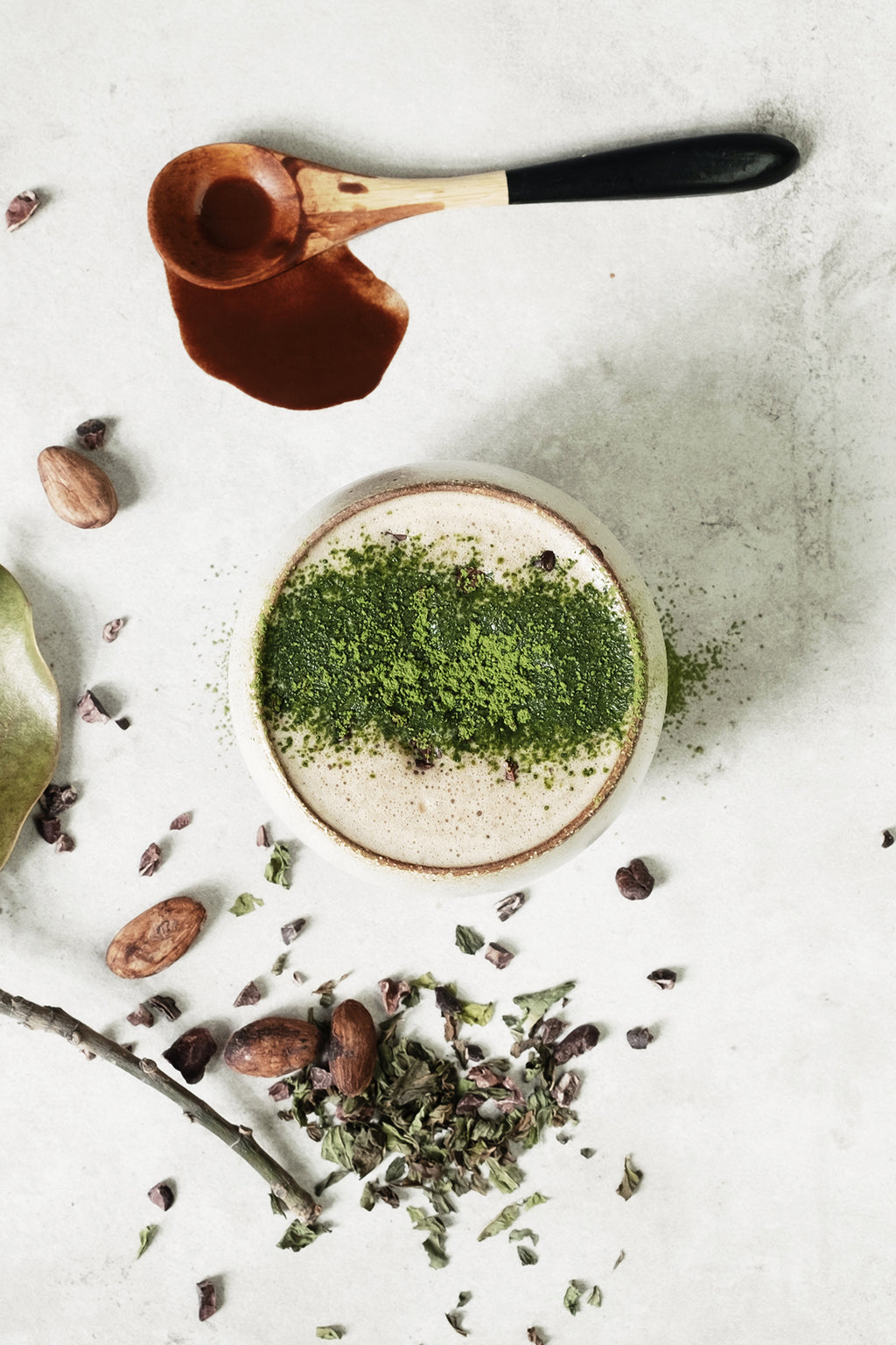 Minty Matcha Cacao Latte Health foods The Fashion Advocate ethical Australian fashion designer boutique Melbourne sustainable clothes