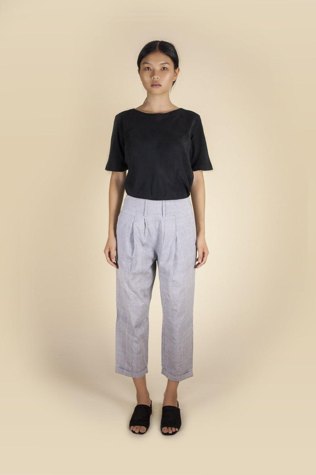 Nirvana Trouser Pants & Shorts The Fashion Advocate ethical Australian fashion designer boutique Melbourne sustainable clothes