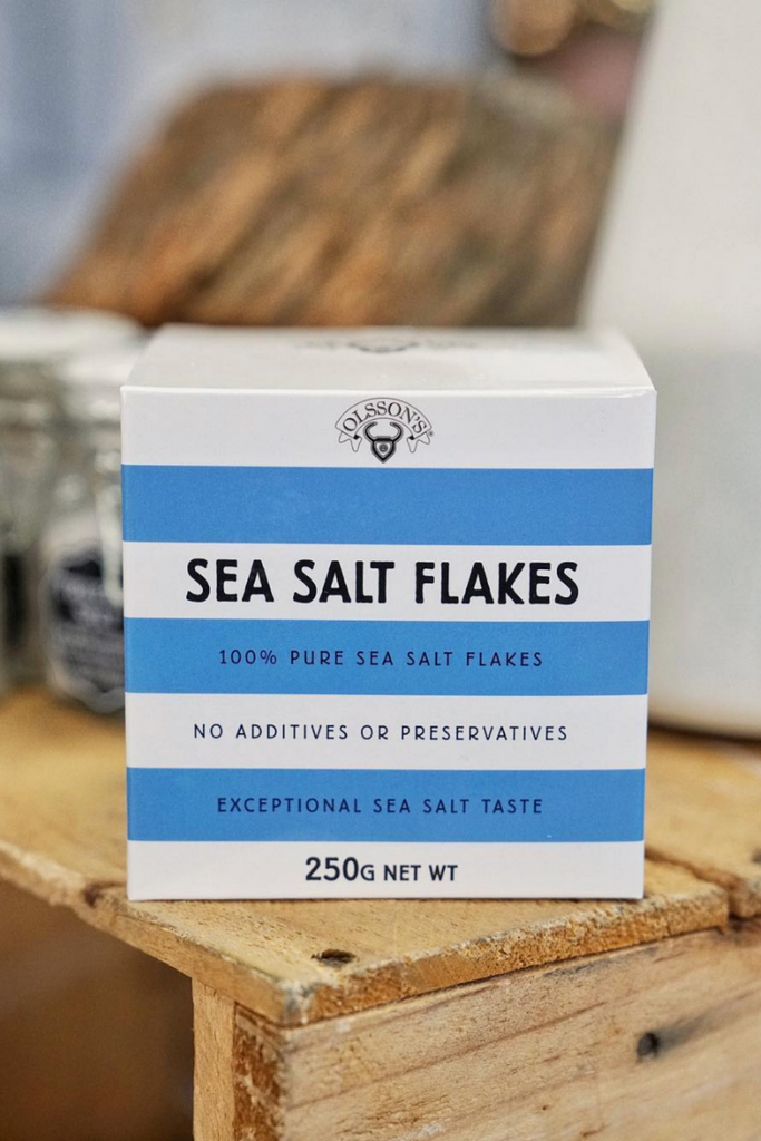 Sea Salt Flakes 250gm Cube Health foods Ethical Sustainable Vegan Organic Australian fashion womens clothes