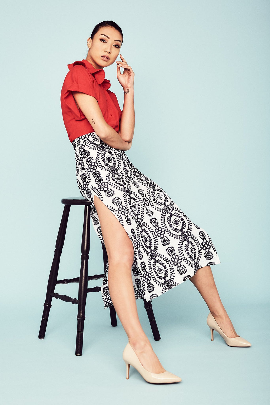 Alba Skirt Skirts The Fashion Advocate ethical Australian fashion designer boutique Melbourne sustainable clothes