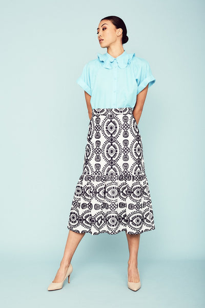 Agnes Skirt Skirts The Fashion Advocate ethical Australian fashion designer boutique Melbourne sustainable clothes