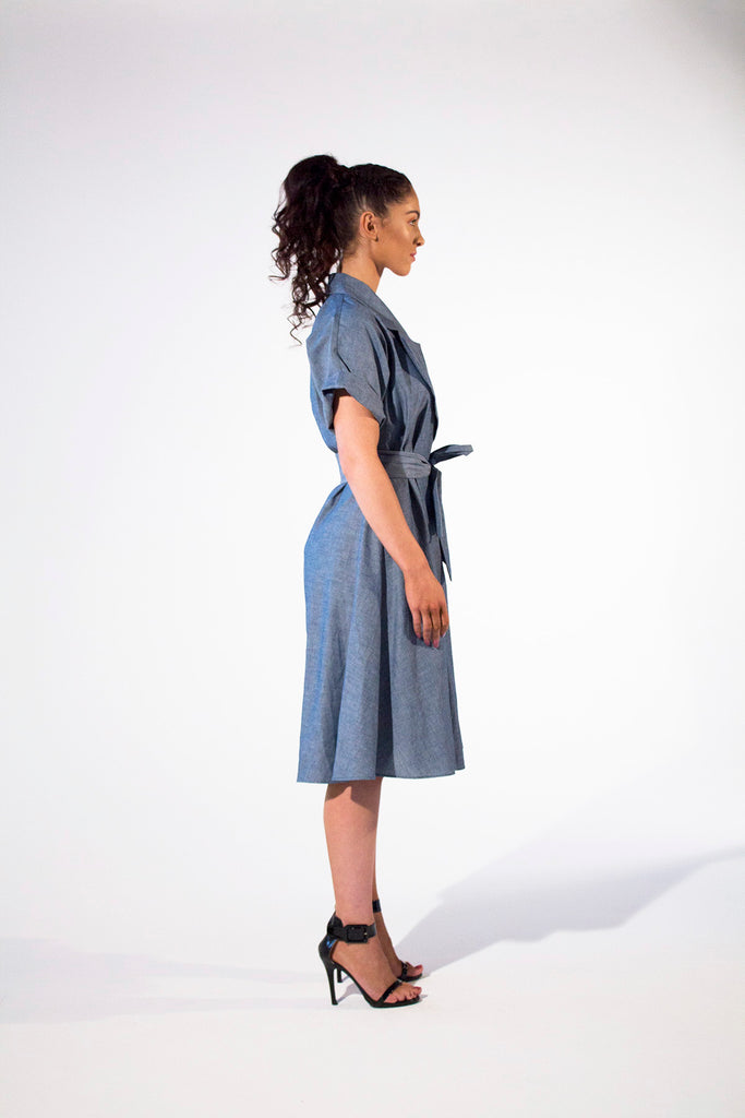 Carrie Dress Dresses The Fashion Advocate ethical Australian fashion designer boutique Melbourne sustainable clothes