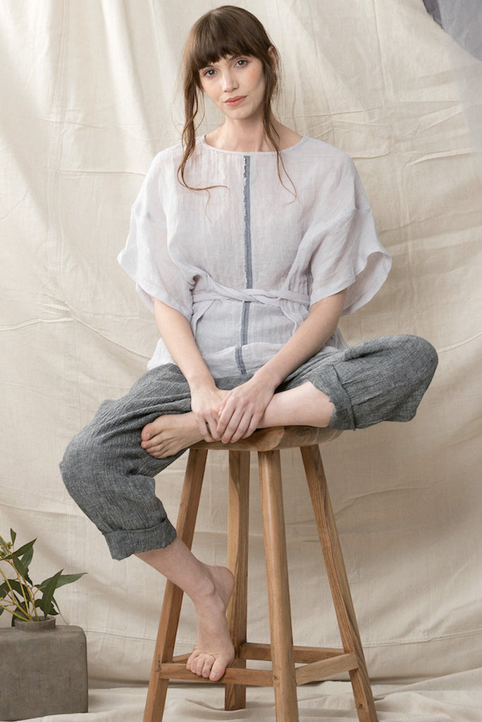 Luna Top Shirts + tops Ethical Sustainable Vegan Organic Australian fashion womens clothes
