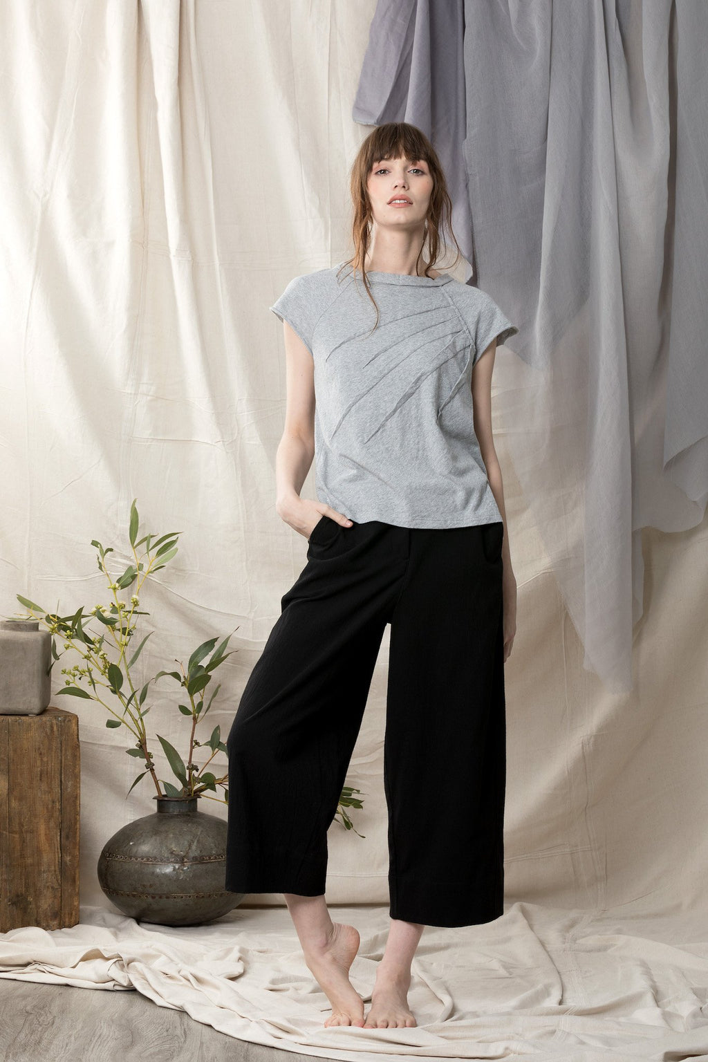 Swallowtail Top Shirts + tops Ethical Sustainable Vegan Organic Australian fashion womens clothes