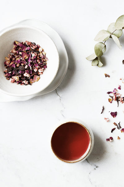 Rosy Hibiscus Tea Health foods The Fashion Advocate ethical Australian fashion designer boutique Melbourne sustainable clothes