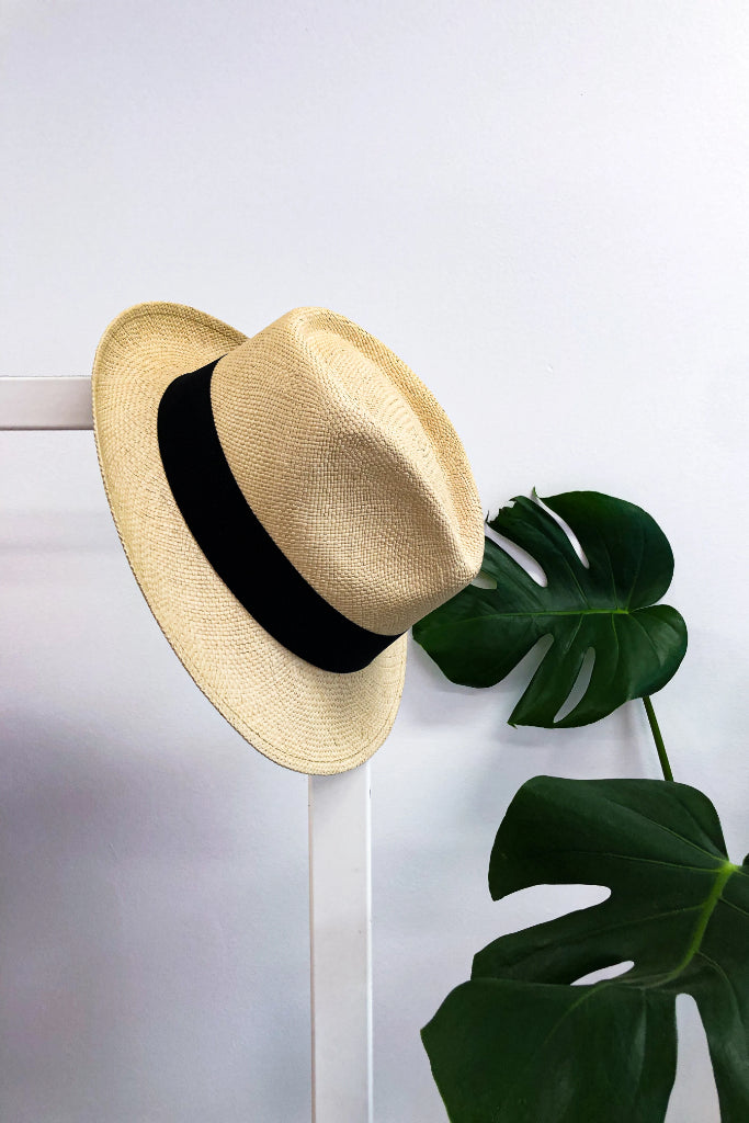 Sand Hass Panama Hat Hats The Fashion Advocate ethical Australian fashion designer boutique Melbourne sustainable clothes