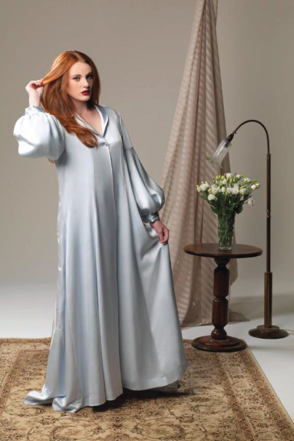 Fortuna Opulence Robe - Sleepwear - The Fashion Advocate - Ethical Australian fashion online like - Melbourne fashion blogger