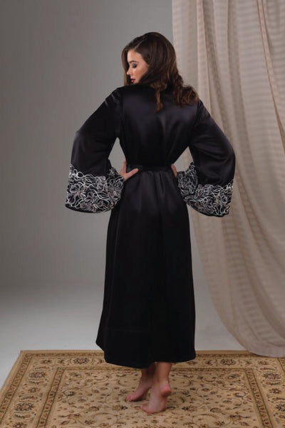 Lasa Grandeur Robe Sleepwear The Fashion Advocate ethical Australian fashion designer boutique Melbourne sustainable clothes