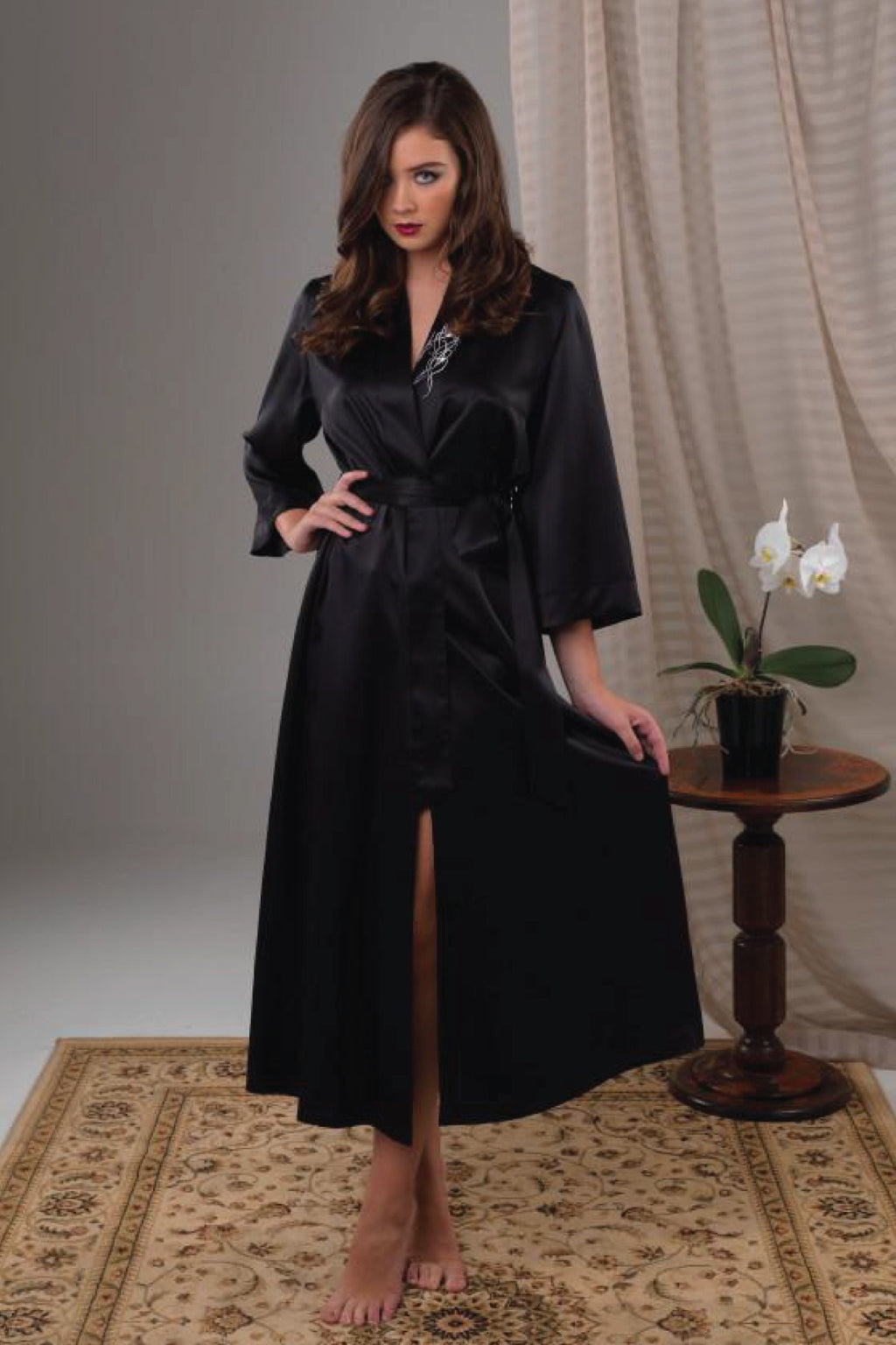 Lasa Robe Sleepwear The Fashion Advocate ethical Australian fashion designer boutique Melbourne sustainable clothes