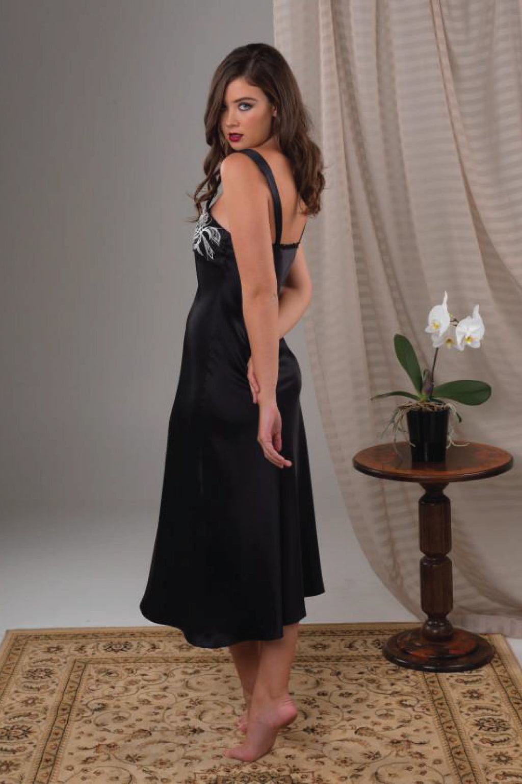Orchid Nightgown Sleepwear The Fashion Advocate ethical Australian fashion designer boutique Melbourne sustainable clothes