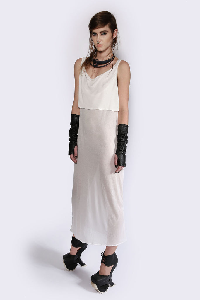Front Drop Minimalistic Dress Dresses The Fashion Advocate ethical Australian fashion designer boutique Melbourne sustainable clothes
