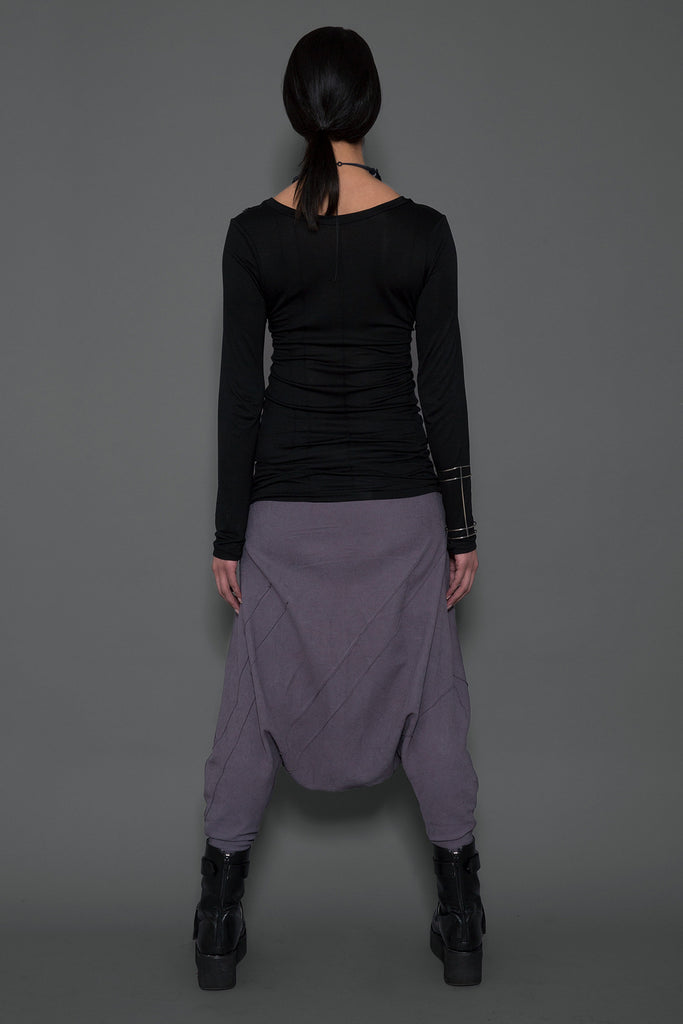 Extra Low Harem Pants Pants The Fashion Advocate ethical Australian fashion designer boutique Melbourne sustainable clothes