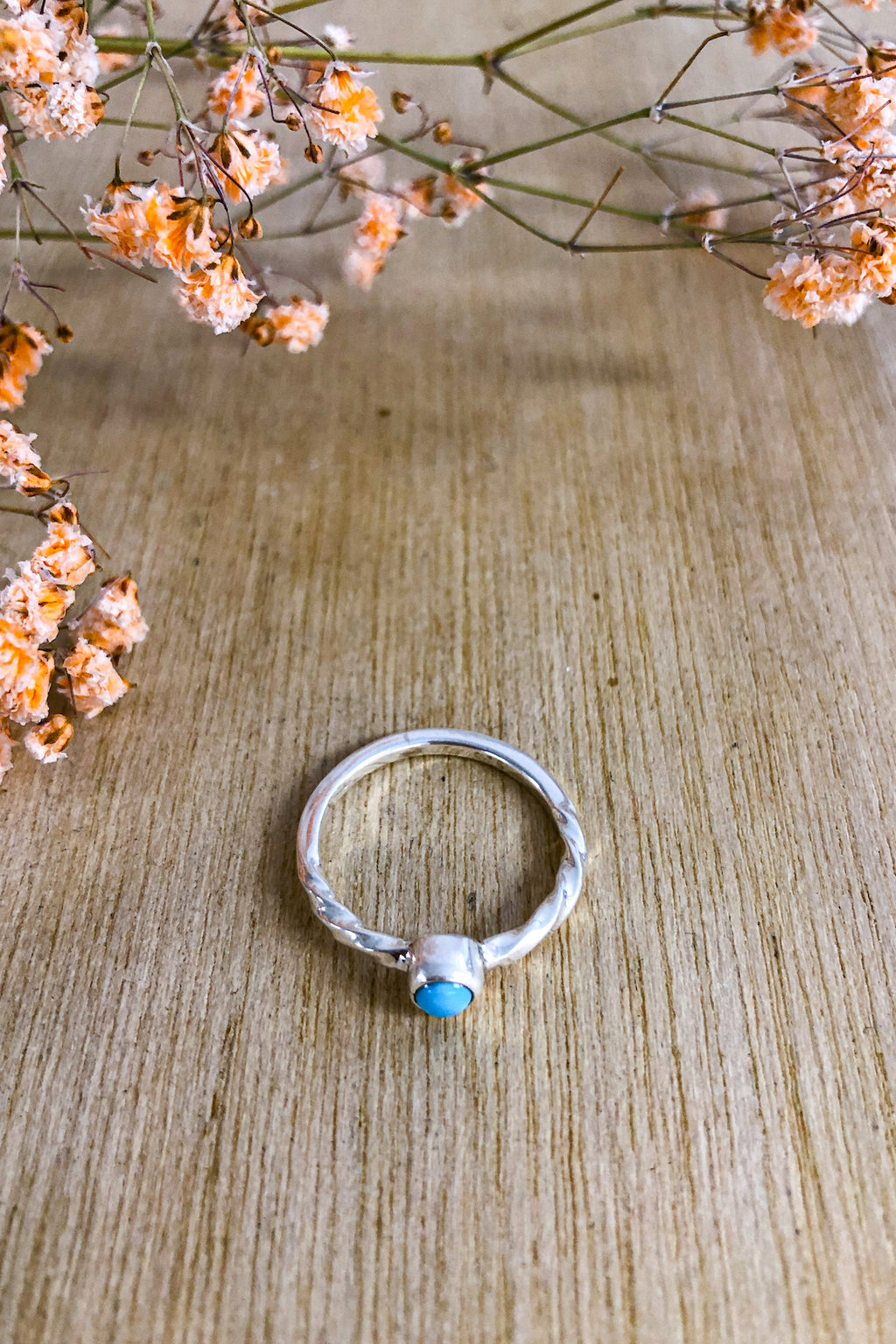 Turquoise Fine Twist Ring Jewellery The Fashion Advocate ethical Australian fashion designer boutique Melbourne sustainable clothes