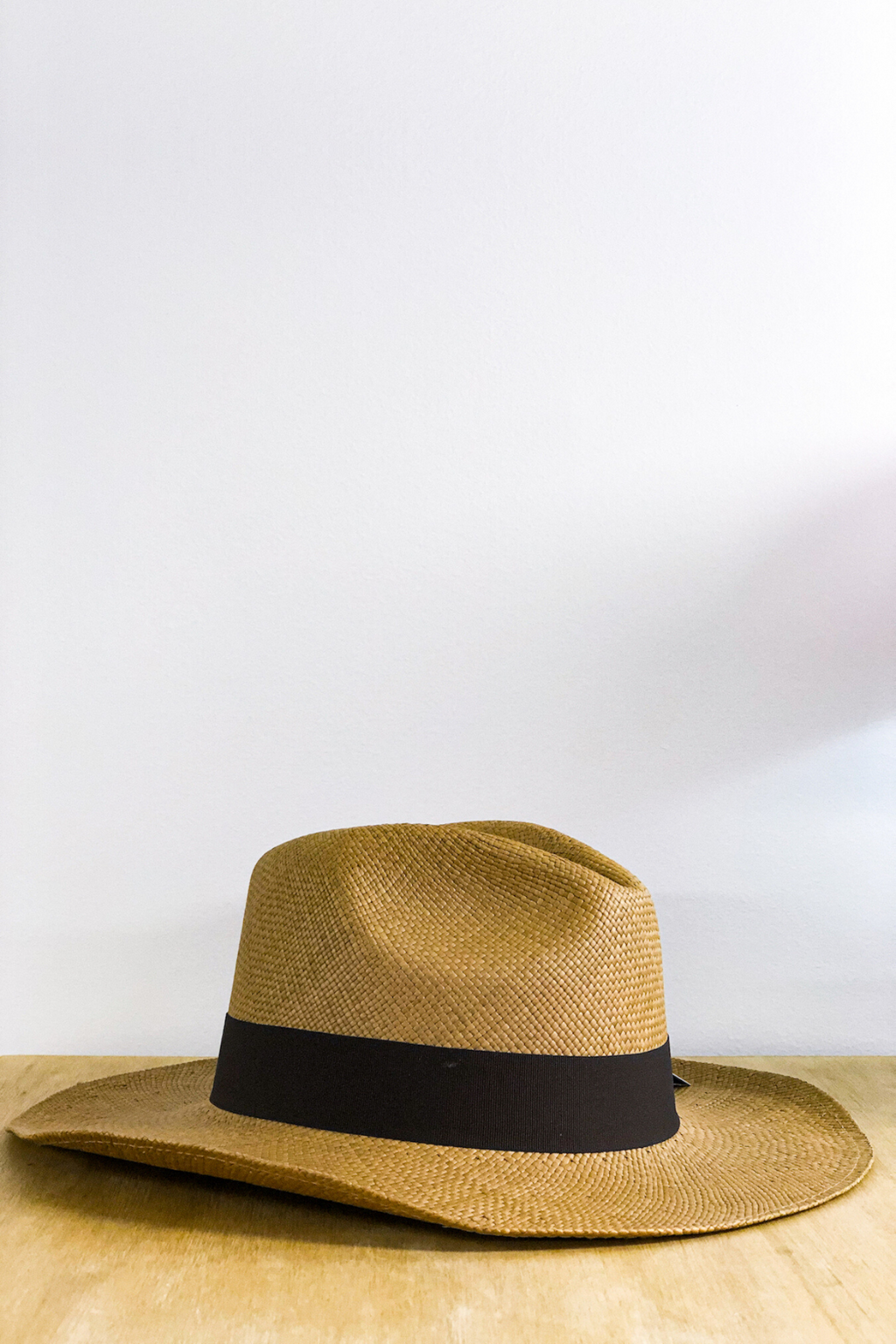 Tobacco Borsalino Panama Hat Hats The Fashion Advocate ethical Australian fashion designer boutique Melbourne sustainable clothes