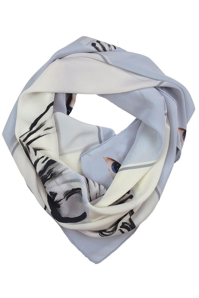 Columbine Square Scarf Scarves The Fashion Advocate ethical Australian fashion designer boutique Melbourne sustainable clothes