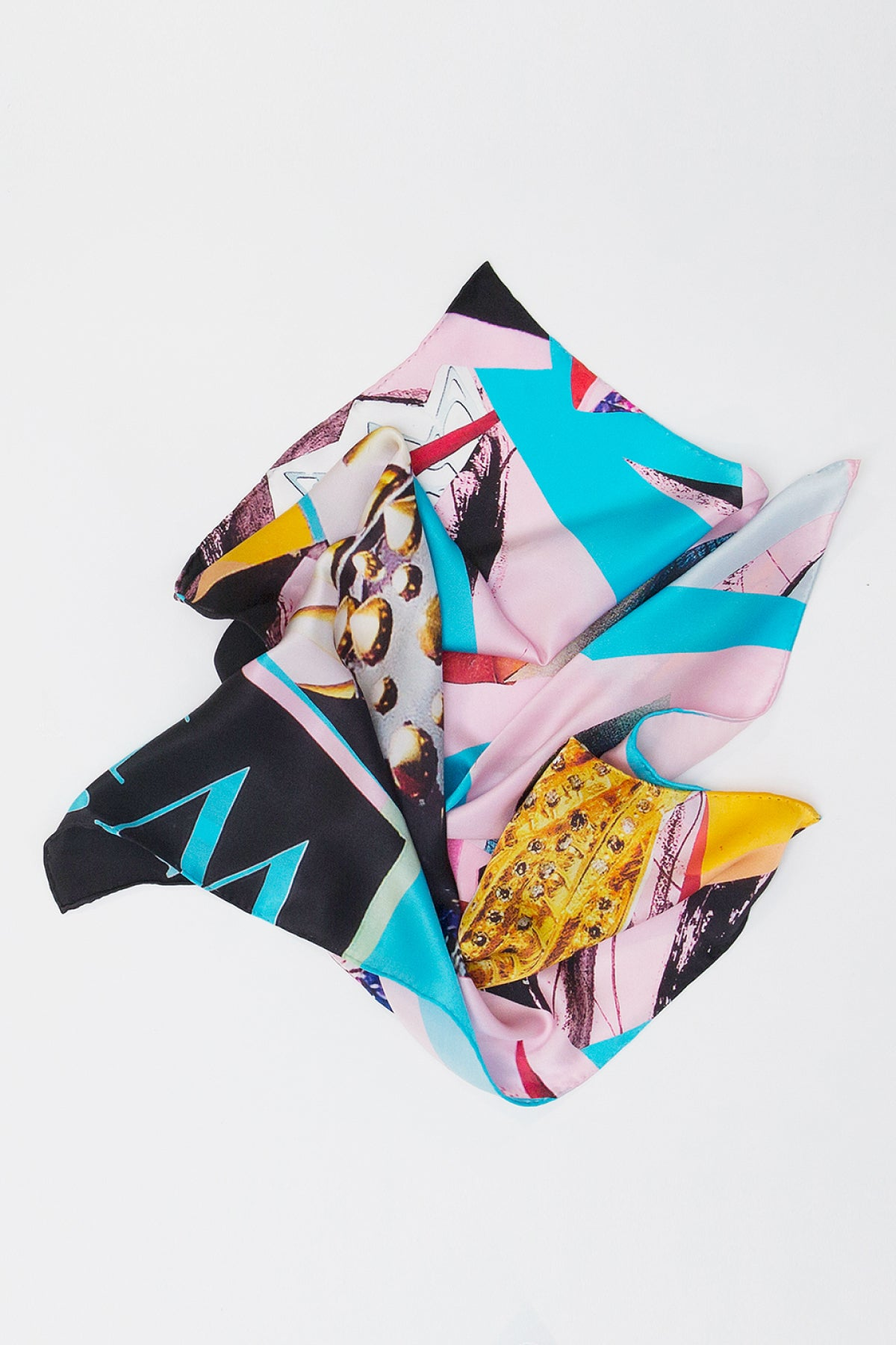 Blues Star Square Scarf Scarves The Fashion Advocate ethical Australian fashion designer boutique Melbourne sustainable clothes