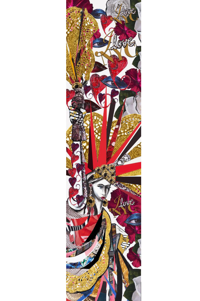 Liberty Long Scarf Scarves The Fashion Advocate ethical Australian fashion designer boutique Melbourne sustainable clothes