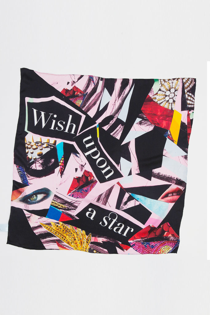 Midnight Star Square Scarf Scarves Ethical Sustainable Vegan Organic Australian fashion womens clothes