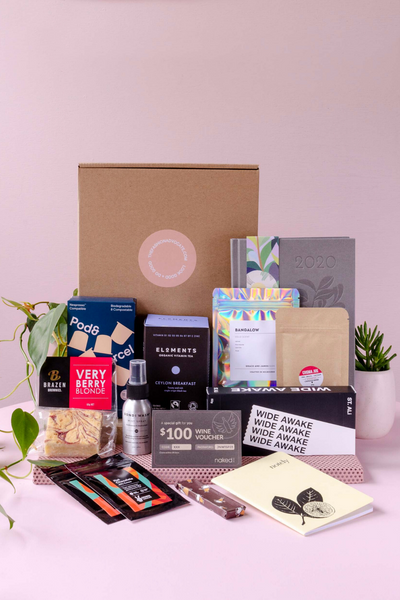 Work From Home Australian Made Gift Box sustainable delivered gifts online