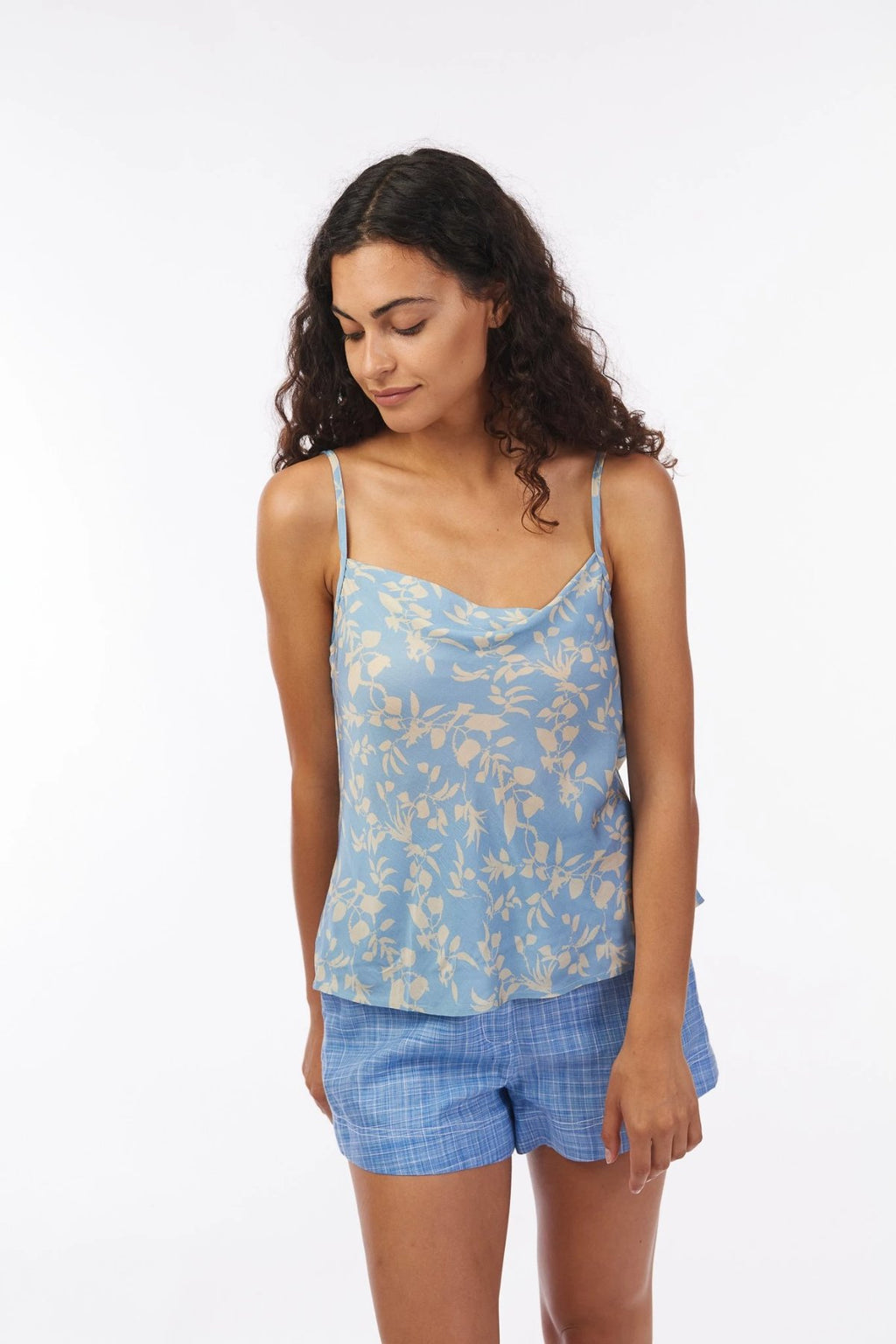 Cerulean Vine Carlotta Cami Shirts + tops Ethical Sustainable Vegan Organic Australian fashion womens clothes
