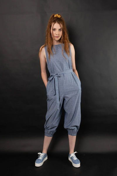 Rehan Embroidered Jumpsuit Jumpsuits + playsuits The Fashion Advocate ethical Australian fashion designer boutique Melbourne sustainable clothes