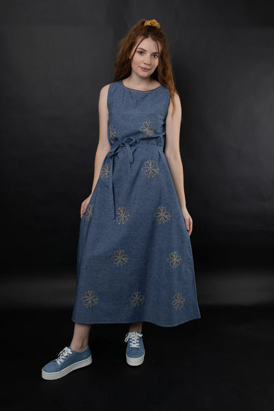 Eshe Dress Dresses The Fashion Advocate ethical Australian fashion designer boutique Melbourne sustainable clothes