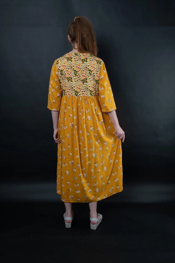 Marigold Dress Dresses Ethical Sustainable Vegan Organic Australian fashion womens clothes