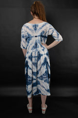 Noreen Shibori Dress Dresses Ethical Sustainable Vegan Organic Australian fashion womens clothes