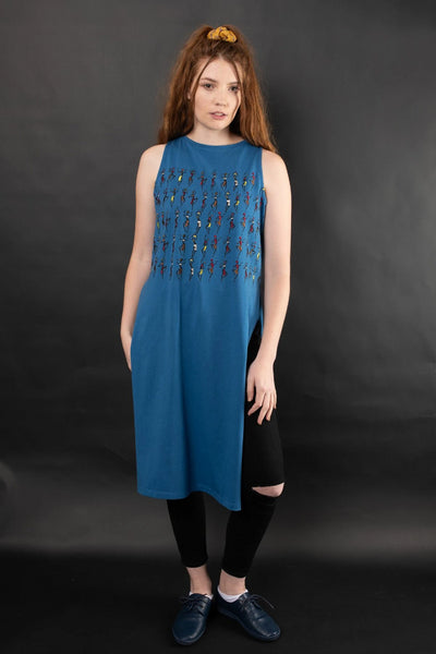 AIDAN EMBROIDERED KNIT MAXI TOP TOP The Fashion Advocate ethical Australian fashion designer boutique Melbourne sustainable clothes