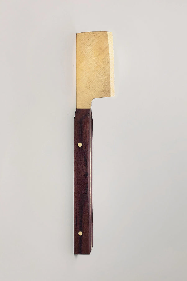 Brass Cheese Knife Kitchen The Fashion Advocate ethical Australian fashion designer boutique Melbourne sustainable clothes