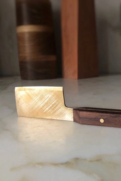 Brass Cheese Knife Kitchen Ethical Sustainable Vegan Organic Australian fashion womens clothes
