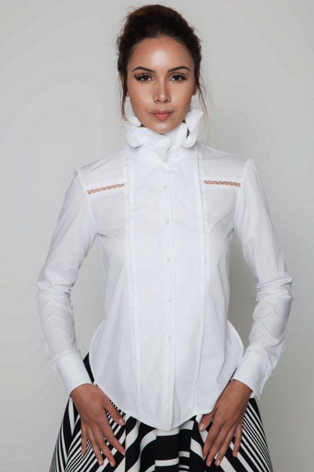 Orocéo Castro Shirt Shirts The Fashion Advocate ethical Australian fashion designer boutique Melbourne sustainable clothes