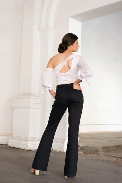 Freyjah Trouser Pants The Fashion Advocate ethical Australian fashion designer boutique Melbourne sustainable clothes