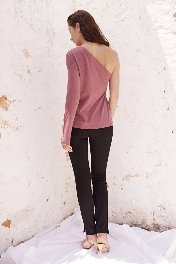 Maz One Shoulder Top Shirts + tops Ethical Sustainable Vegan Organic Australian fashion womens clothes