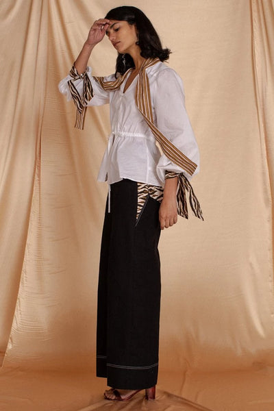 Black Jasper Trouser Pants The Fashion Advocate ethical Australian fashion designer boutique Melbourne sustainable clothes