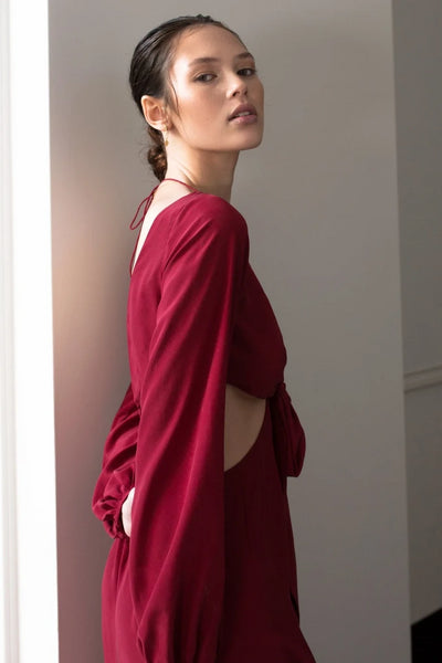 Nuwa Dress Dresses The Fashion Advocate ethical Australian fashion designer boutique Melbourne sustainable clothes