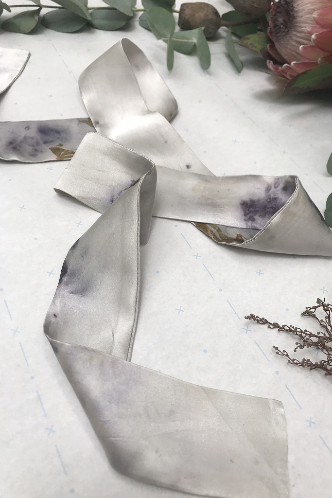 Silver Silk Ribbon