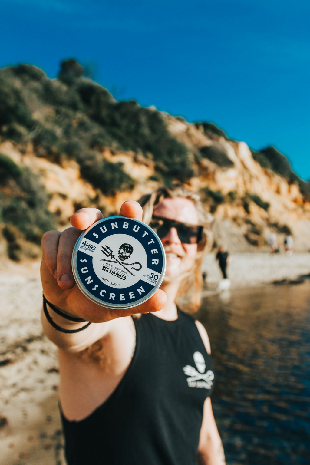 sunbutter non-toxic natural australian made Sea Shepherd x SunButter SPF50 Sunscreen 1
