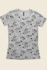 Womens Gin Mill Cowboy Slimline Tee Shirts + tops Ethical Sustainable Vegan Organic Australian fashion womens clothes
