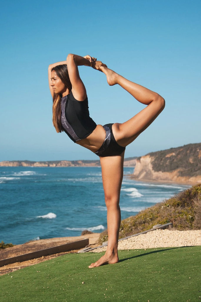 Yasi Surf Top Swimwear The Fashion Advocate ethical Australian fashion designer boutique Melbourne sustainable clothes