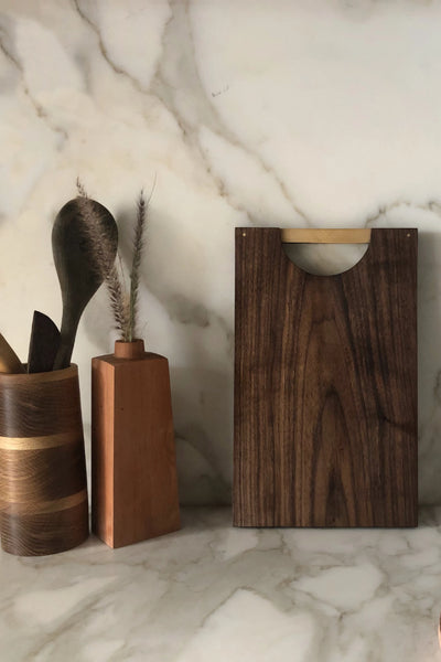 Dark Walnut Chopping Board